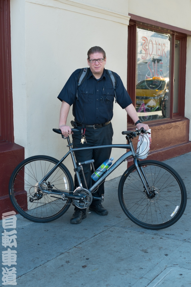 James and his Raleigh Misceo 2.0