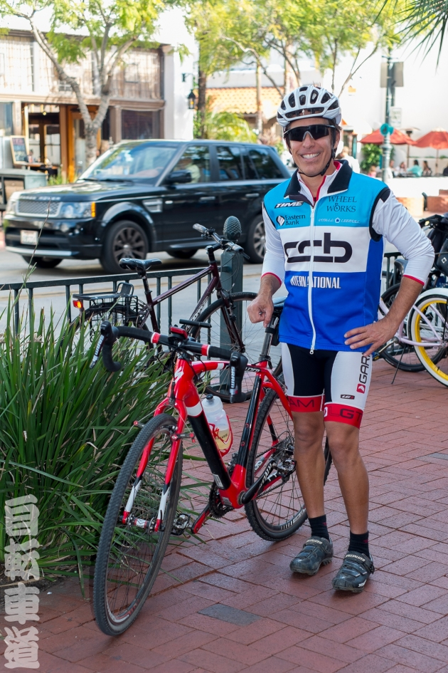 Jimmy and his Specialized Crux Carbon Cyclocross bike.