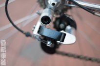Basso Ascot steel road bike Mavic derailleur detail.