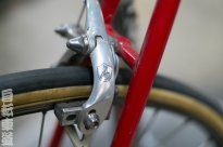 1983 De Rosa Eddy Merckx rear brake detail.