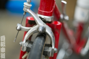 1983 De Rosa Eddy Merckx front brake detail.