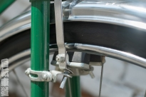 Mexican Benotto rod brake detail.
