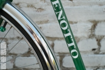 Mexican Benotto rear down tube and fender detail.