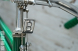Mexican Benotto headset detail.