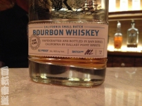 The best bourbon I've ever tasted at Ballast Point in Scripps Ranch, San Diego, CA.