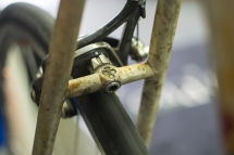Colnago brake stay detail.