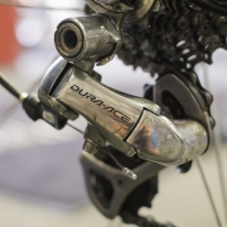 Colnago Dura Ace detail.