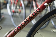 Colnago down tube detail.