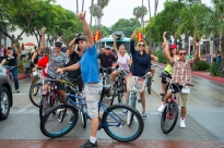 2014 Santa Barbara Fiesta Cruiser Run