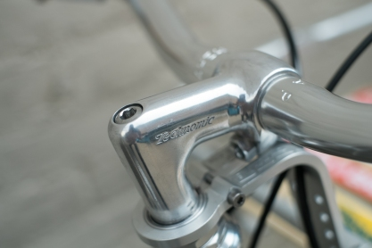 Mercier Kilo OS Double Top Tube Grass Racer Nitto Technomic Stem detail