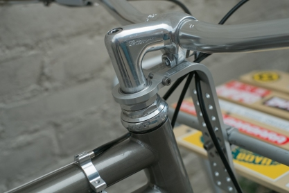 Mercier Kilo OS Double Top Tube Grass Racer Headset detail