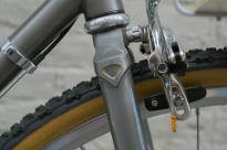Mercier Kilo OS Double Top Tube Grass Racer Front Brake detail