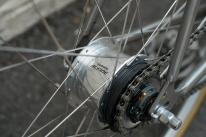 Mercier Kilo OS Double Top Tube Grass Racer Shimano Alfine 8 detail