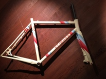 Custom frame with final paint,