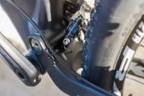 2015 Hei Hei Deluxe derailleur cable routing detail