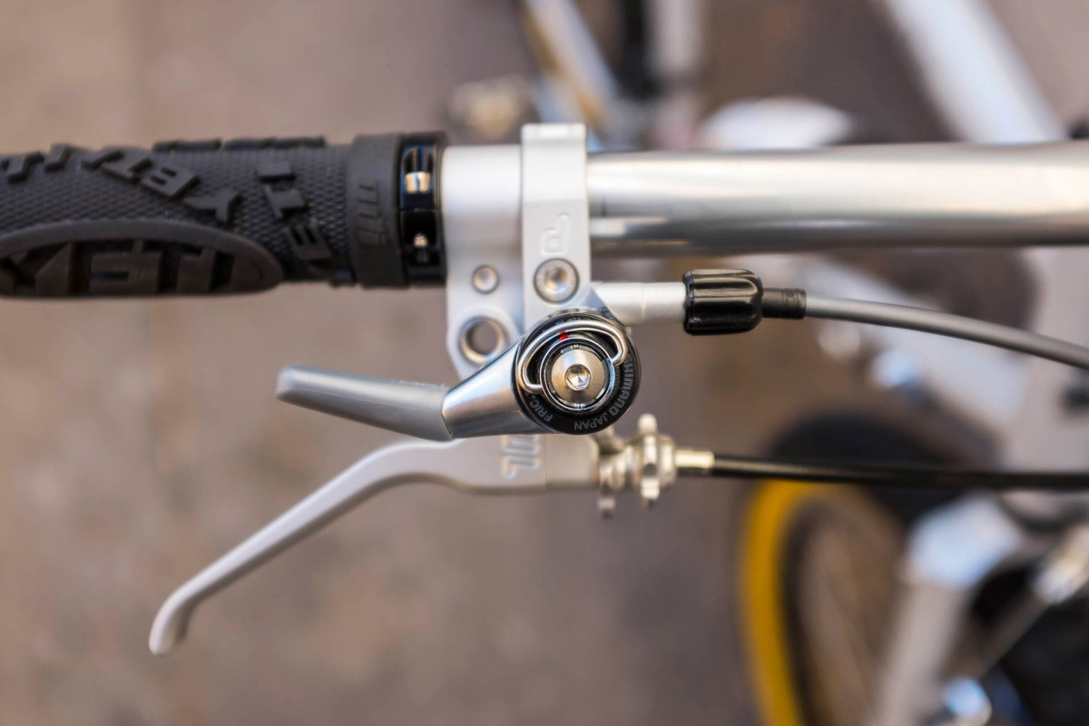 Surly Long Haul Trucker Rear Shifter Detail