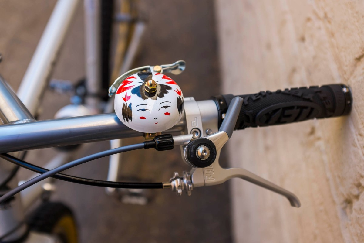 Surly Long Haul Trucker Front Shifter and Bell Detail