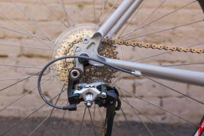 Surly Long Haul Trucker Cassette and Rear Derailleur Detiail
