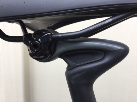 2017 Specialized Ruby Expert Seat Post Zertz Detail