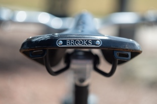 1994 Bridgestone MB-1 Brooks saddle detail 2
