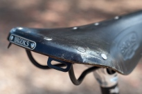 1994 Bridgestone MB-1 Brooks saddle detail