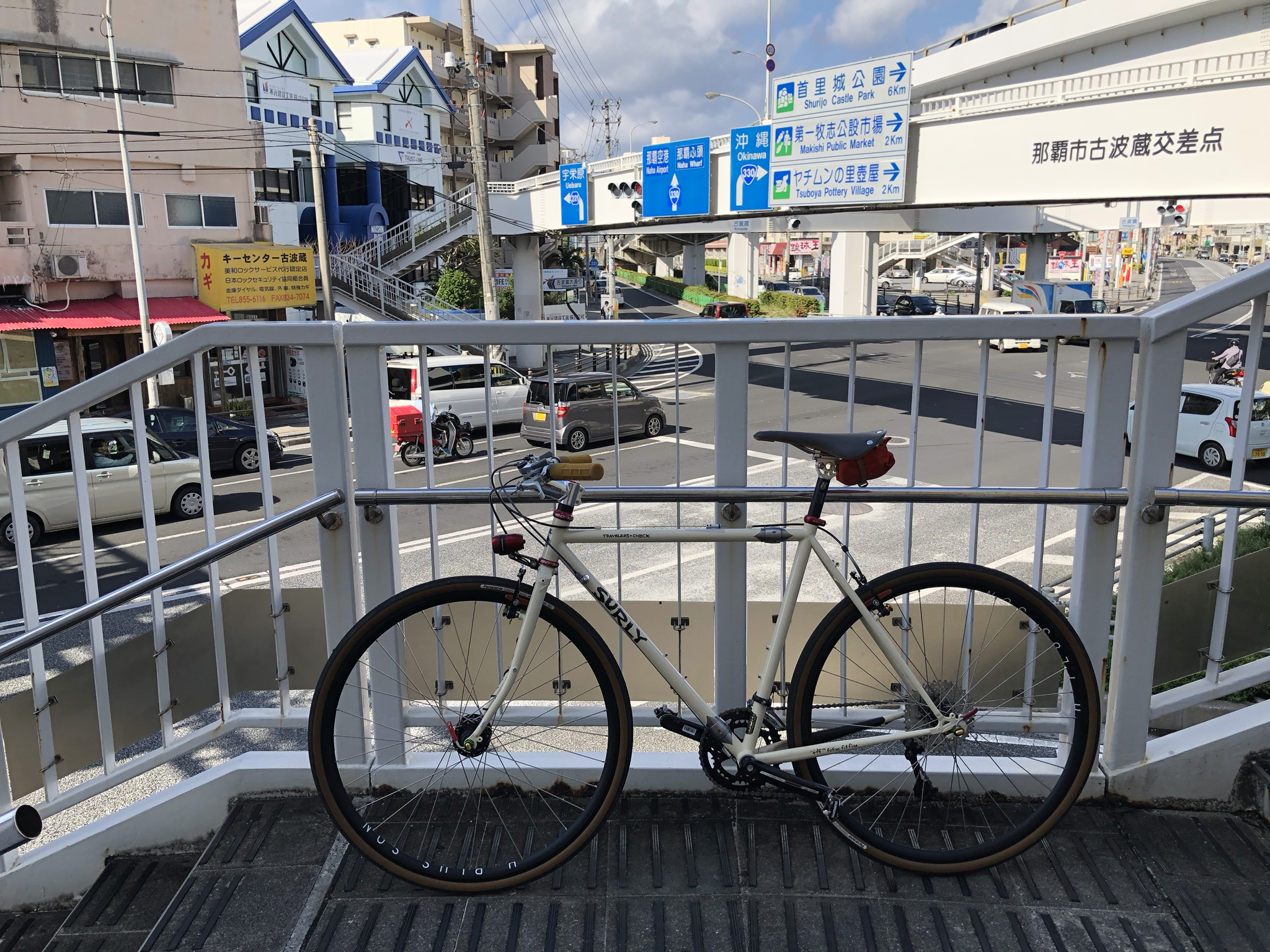 Somewhere on the 330 in Naha, Okinawa