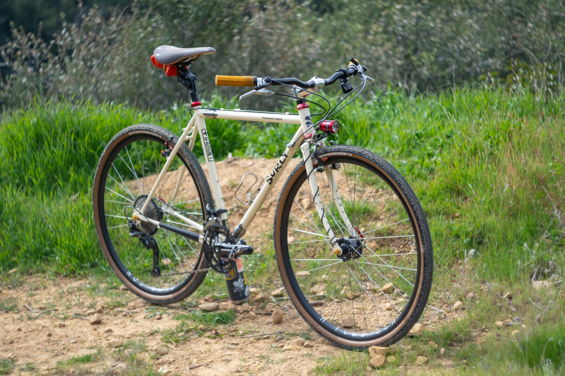 Surly Travelers Gravelers Check front view.