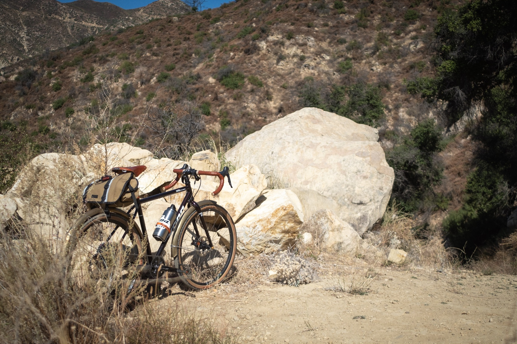 Kona Sutra 650b rocking it on Romero Canyon Trail, Santa Barbara, CA
