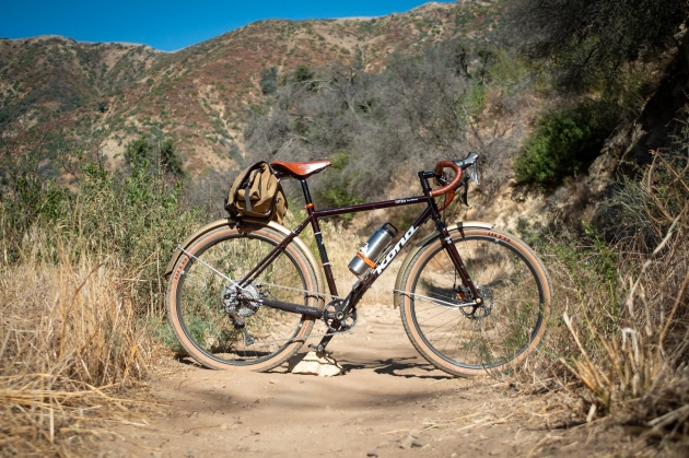 Kona 650b at Romero Canyon trail.