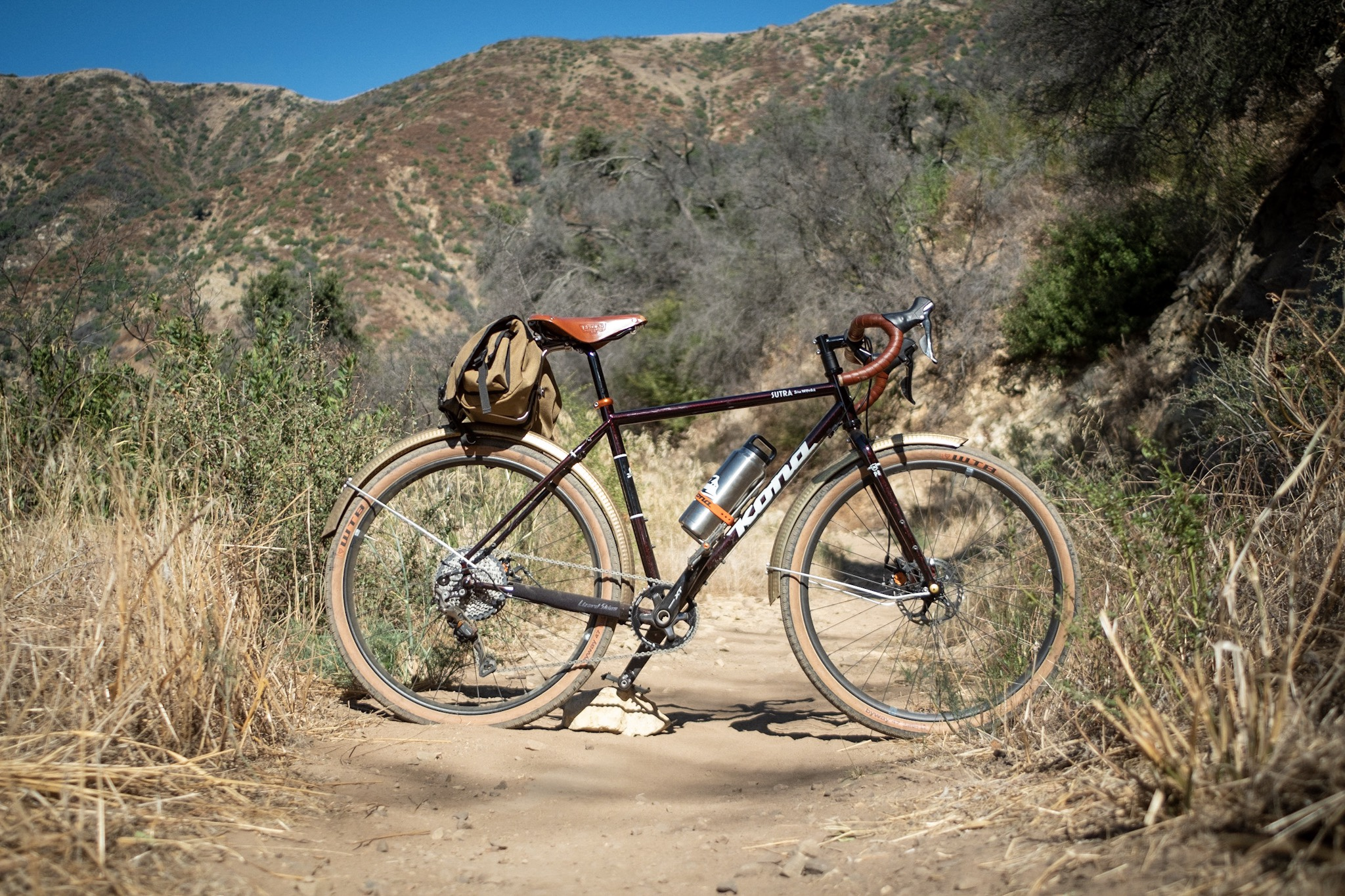 Kona Sutra 650b on Romero Canyon Trail, Santa Barbara, CA