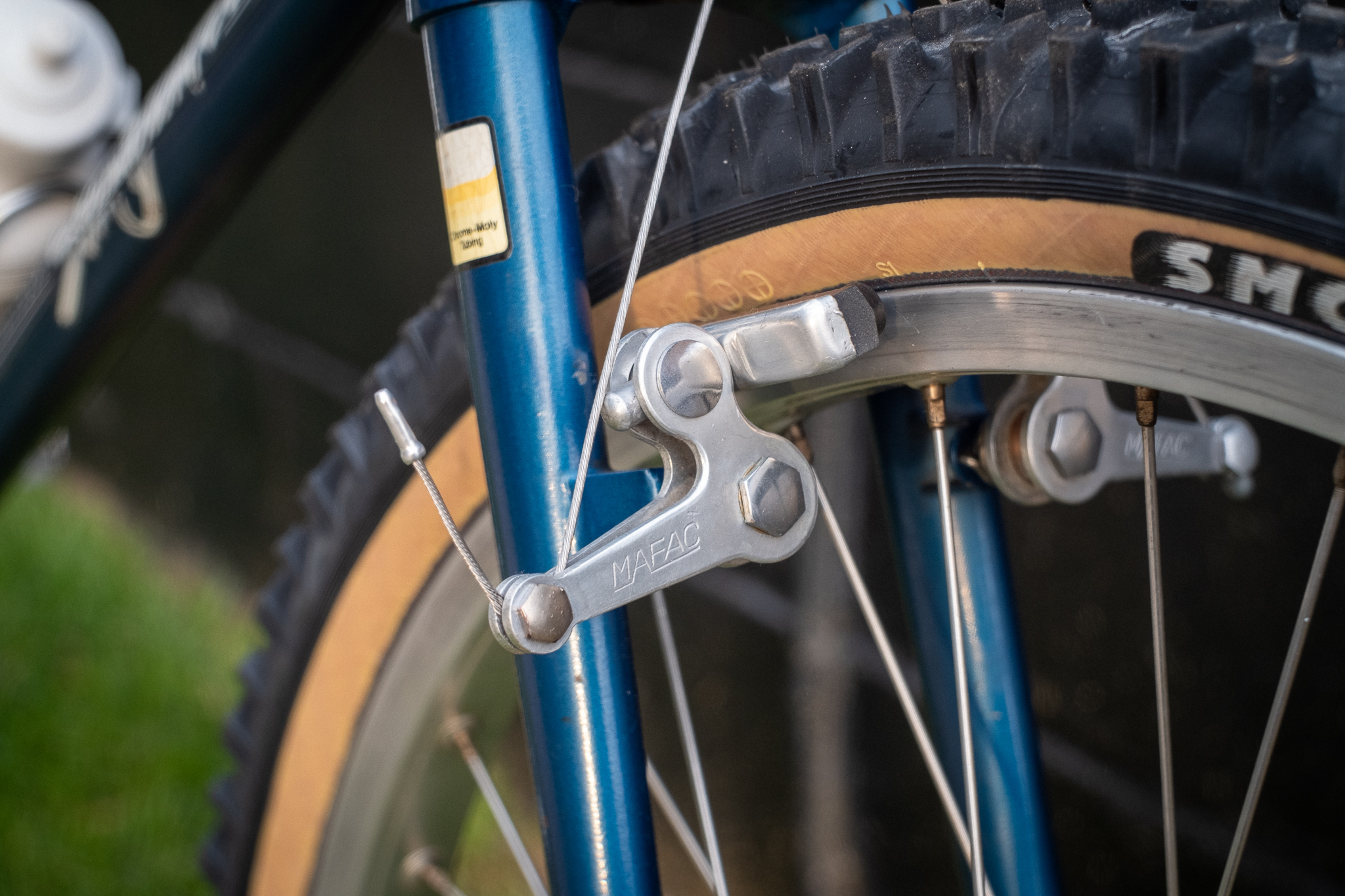 1981 Specialized Stumpjumper Mafac brake detail