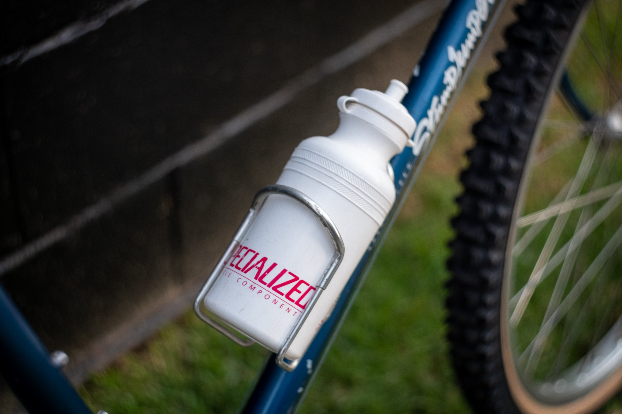 1981 Specialized Stumpjumper bottle detail